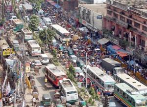 ঢাকা মহানগরীতে ট্রাফিক জ্যাম