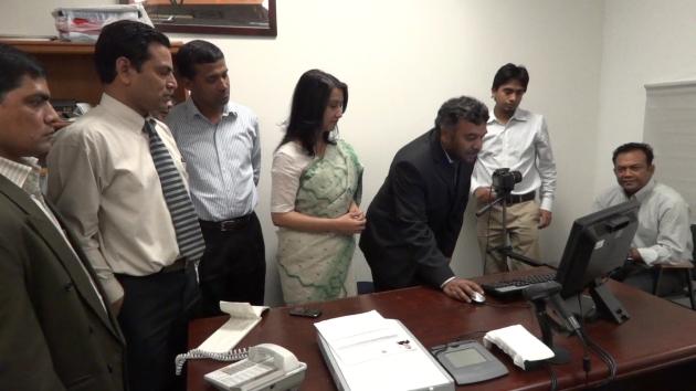 Bangladeshi MRP (Machine Readable Passport) from LA Consulate